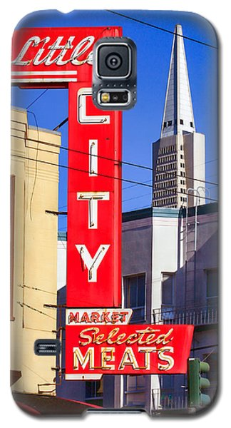 Little City Market North Beach San Francisco Galaxy S5 Case