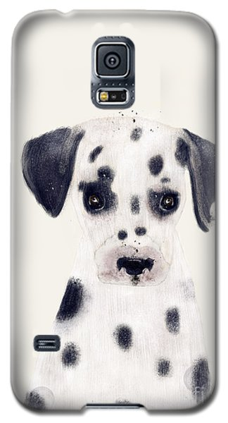 Galaxy S5 Case featuring the painting Little Dalmatian by Bri B