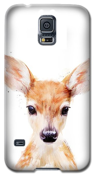 Wildlife Galaxy S5 Case - Little Deer by Amy Hamilton
