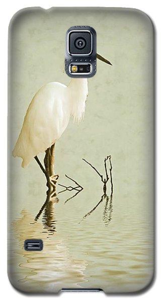 Little Egret Galaxy S5 Case by Sharon Lisa Clarke