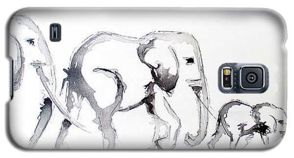 Little Elephant Family Galaxy S5 Case