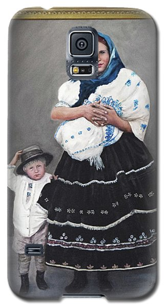 Little Family Galaxy S5 Case by Sandra Nardone