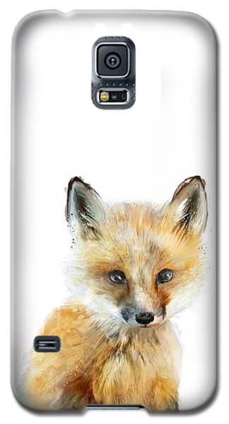 Little Fox Galaxy S5 Case by Amy Hamilton