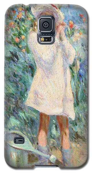 Little Girl With Roses / Detail Galaxy S5 Case