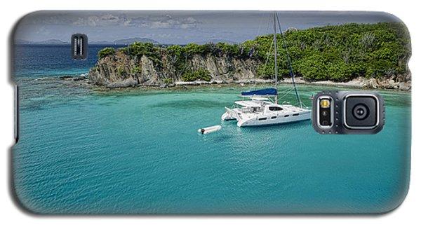 Little Harbor, Peter Island Galaxy S5 Case