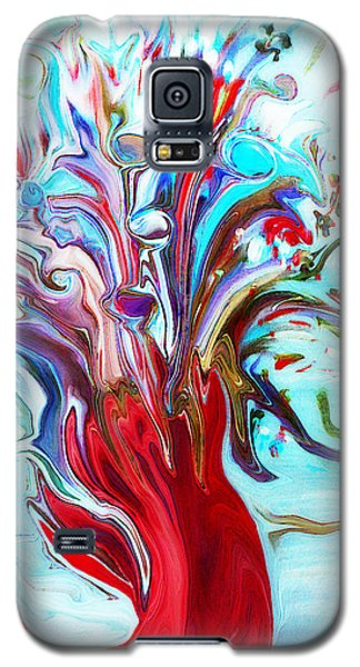 Abstract Little Mermaid Vase  By Sherriofpalmsprings Galaxy S5 Case