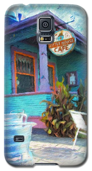 Little House Cafe  Galaxy S5 Case by Linda Weinstock