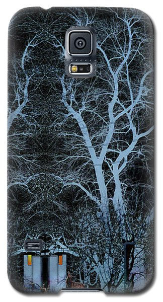 Little House In The Woods Galaxy S5 Case