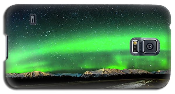 Little House Under The Aurora Galaxy S5 Case