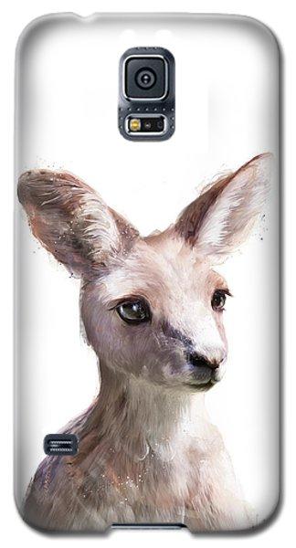 Little Kangaroo Galaxy S5 Case by Amy Hamilton