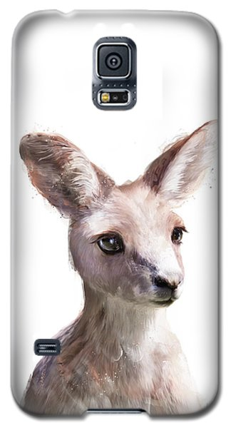 Wildlife Galaxy S5 Case - Little Kangaroo by Amy Hamilton