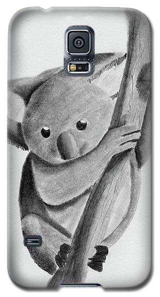 Little Koala On A Tree Galaxy S5 Case