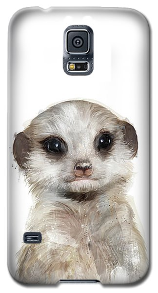Meerkat Galaxy S5 Case - Little Meerkat by Amy Hamilton