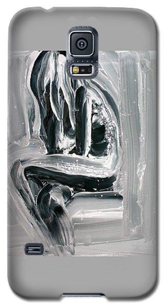 Galaxy S5 Case featuring the painting Little Mermaid by Jarmo Korhonen aka Jarko
