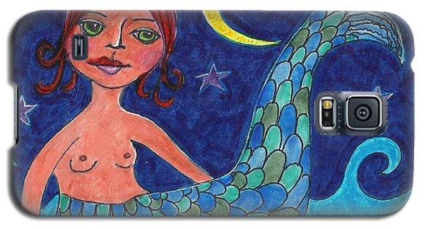 Little Mermaid Galaxy S5 Case by Lisa Noneman