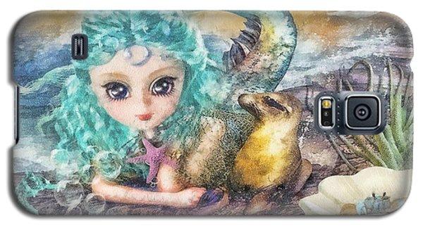 Little Mermaid Galaxy S5 Case by Mo T