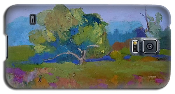 Galaxy S5 Case featuring the painting Little Miami Meadow by Francine Frank