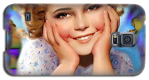 Little Miss Shirley Galaxy S5 Case