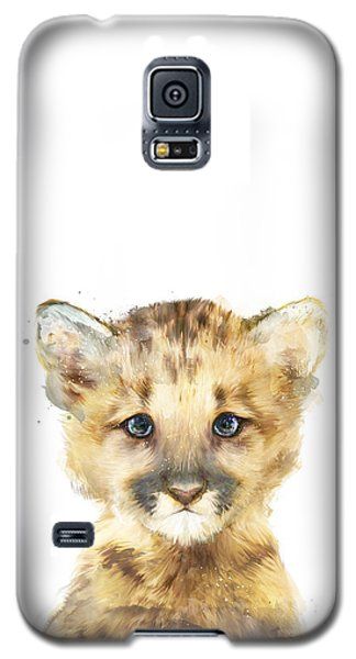 Little Mountain Lion Galaxy S5 Case by Amy Hamilton