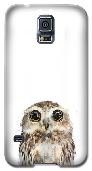 Wildlife Galaxy S5 Case - Little Owl by Amy Hamilton