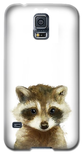 Wildlife Galaxy S5 Case - Little Raccoon by Amy Hamilton