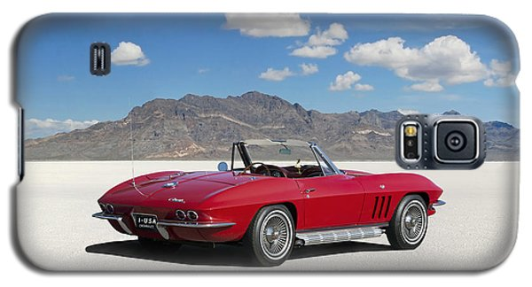 Galaxy S5 Case featuring the digital art Little Red Corvette by Peter Chilelli