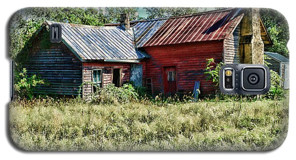 Galaxy S5 Case featuring the photograph Little Red Farmhouse by Paul Ward
