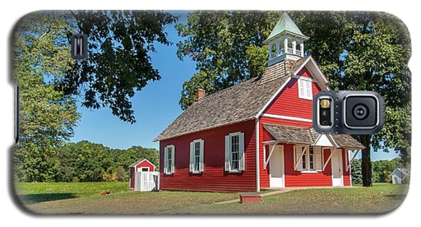 Little Red School House Galaxy S5 Case by Charles Kraus