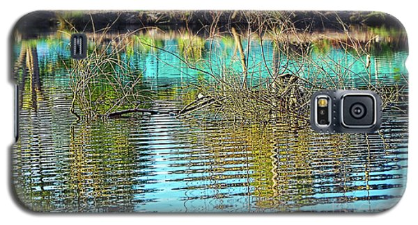Galaxy S5 Case featuring the photograph Little Ripples By Kaye Menner by Kaye Menner