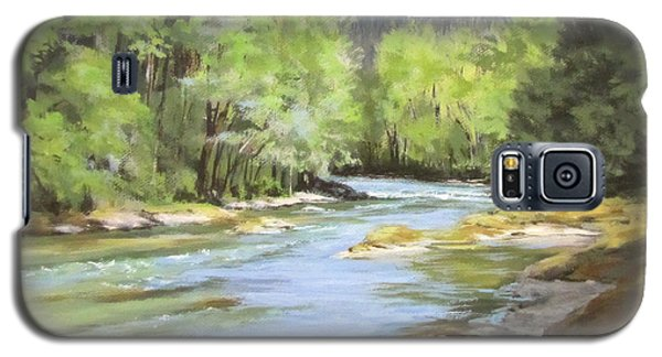 Little River Morning Galaxy S5 Case