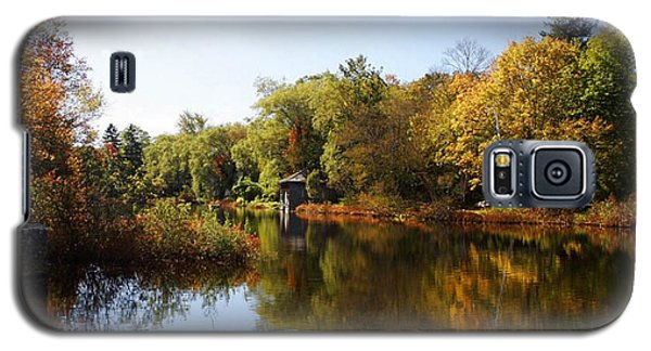 Little Shawme Pond In Sandwich Massachusetts Galaxy S5 Case