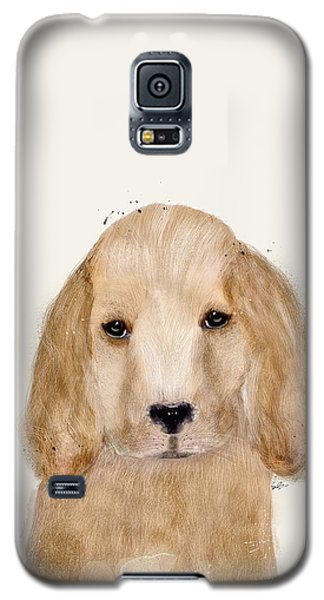 Galaxy S5 Case featuring the painting Little Spaniel by Bri B