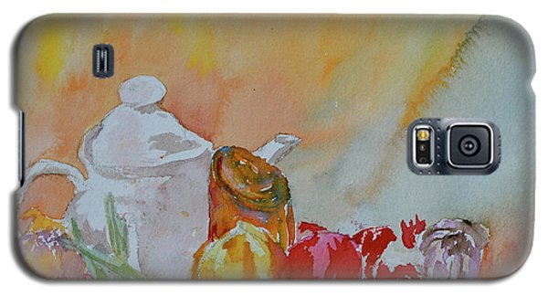 Galaxy S5 Case featuring the painting Little Still Life by Beverley Harper Tinsley
