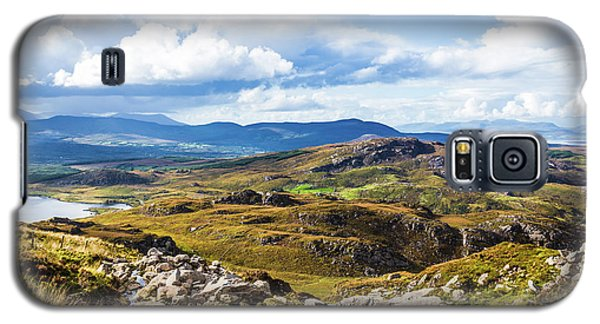 Galaxy S5 Case featuring the photograph Little Stream Running Down The Macgillycuddy's Reeks by Semmick Photo