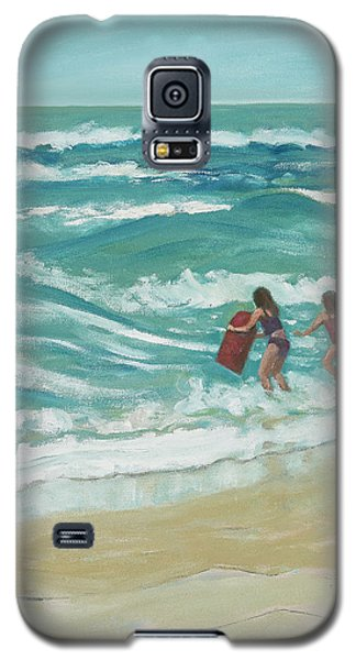 Little Surfers Galaxy S5 Case