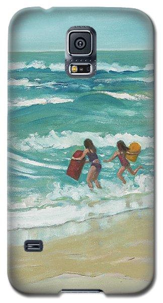 Little Surfers Galaxy S5 Case