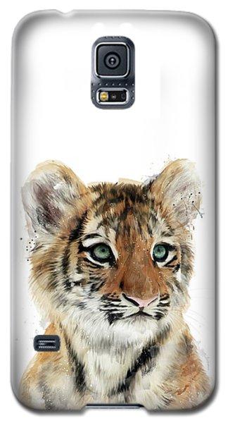 Little Tiger Galaxy S5 Case by Amy Hamilton