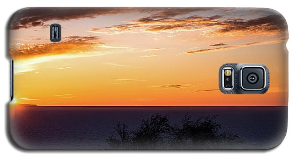 Galaxy S5 Case featuring the photograph Little Traverse Bay Sunset by Onyonet  Photo Studios
