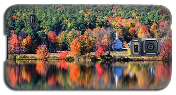 'little White Church', Eaton, Nh	 Galaxy S5 Case by Larry Landolfi