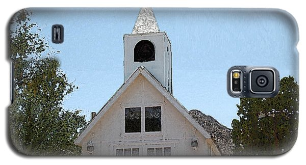 Little White Church Galaxy S5 Case by Walter Chamberlain