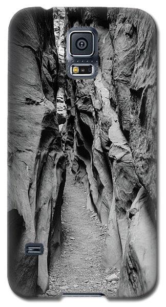 Little Wild Horse Canyon Bw Galaxy S5 Case