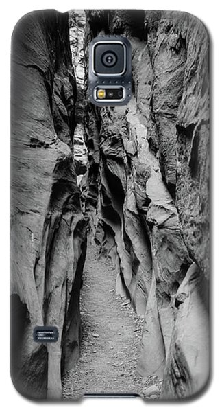 Little Wild Horse Canyon Bw Galaxy S5 Case