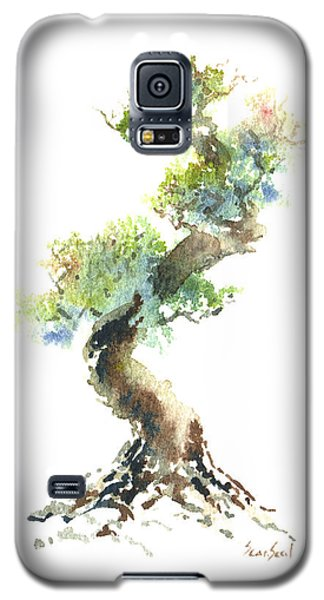 Little Zen Tree 1692 Galaxy S5 Case