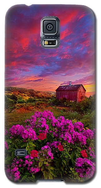 Live In The Moment Galaxy S5 Case