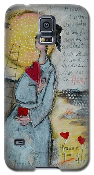 Live Joyfully  Galaxy S5 Case by Sharon Furner