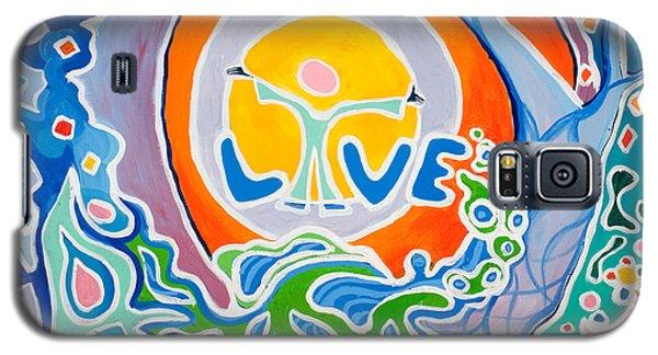 Live Love Galaxy S5 Case