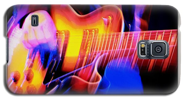 Galaxy S5 Case featuring the photograph Live Music by Chris Berry