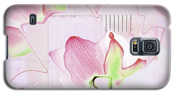 Galaxy S5 Case featuring the digital art Live N Love - Absf17 by Variance Collections