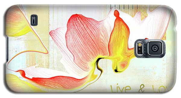 Galaxy S5 Case featuring the photograph Live N Love - Absf44b by Variance Collections