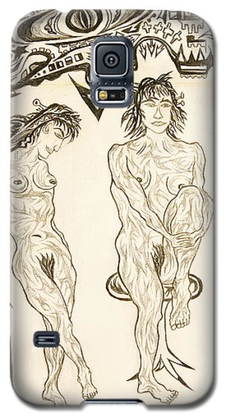 Live Nude 10 Female Galaxy S5 Case